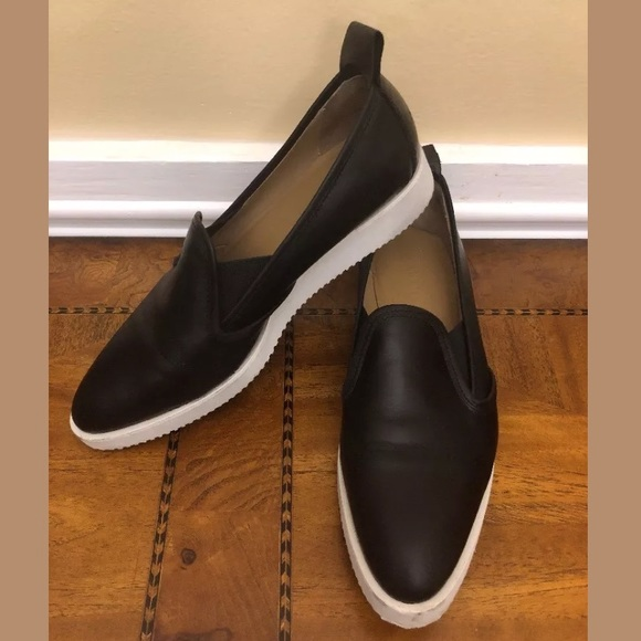 99297dfbc7f Everlane Shoes - Everlane Black Nubuck Street Shoe Slip On Sneaker
